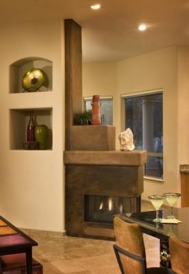 Modern Zen Family room modern