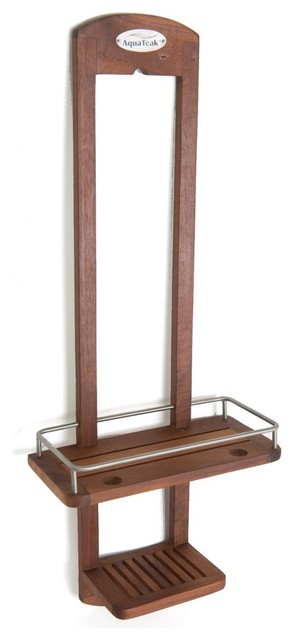 Teak Shower Caddy - From the Spa Collection - Contemporary - Shower ...