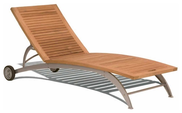 Sirio Modern Sunbed By Design Kollection modern-outdoor-chaise-lounges