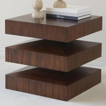 In & Out End Table | Pulp Home - Modern - Nightstands And ...