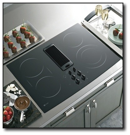 Pp989dnbb 30 Quot Smoothtop Electric Downdraft Cooktop With