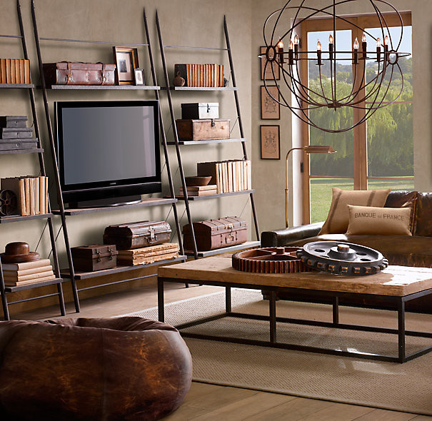 Restoration Hardware Media - Eclectic - Furniture