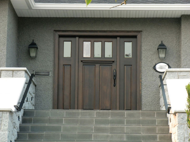 Traditional 3 Lite, 2 Panel traditional front doors