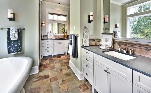 Mercer Island Waterfront Estate traditional-bathroom