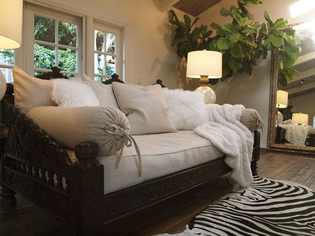 Indian Jhula Daybed eclectic day beds and chaises