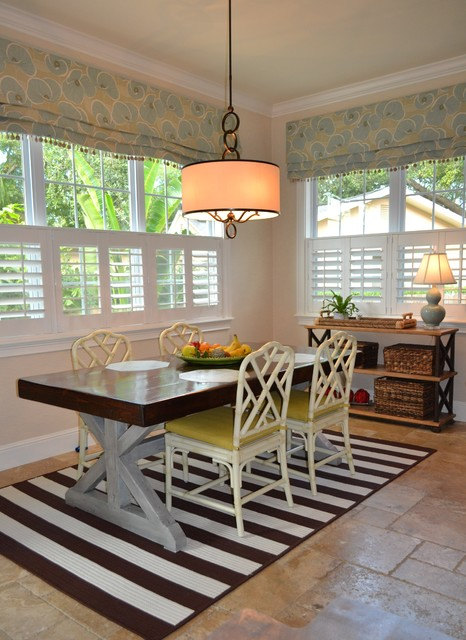 Kitchen with new style faux romans modern roman shades for Kitchen roman blinds contemporary