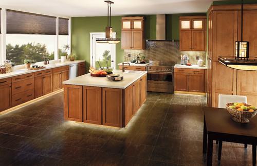 cocina moderna con mucha iluminacion
