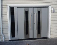 Entry door with Fingerprint access modern-front-doors