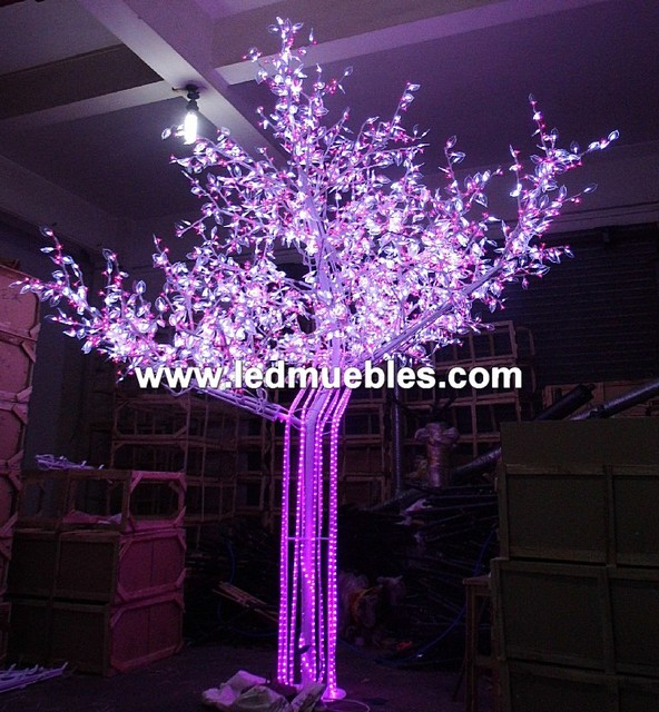 Led Fruit Tree Lamp contemporary-sectional-sofas
