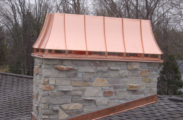 Copper Chimney Caps and Shrouds Traditional other
