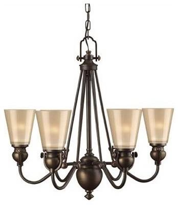 Mayflower 6 Light Chandelier modern-chandeliers
