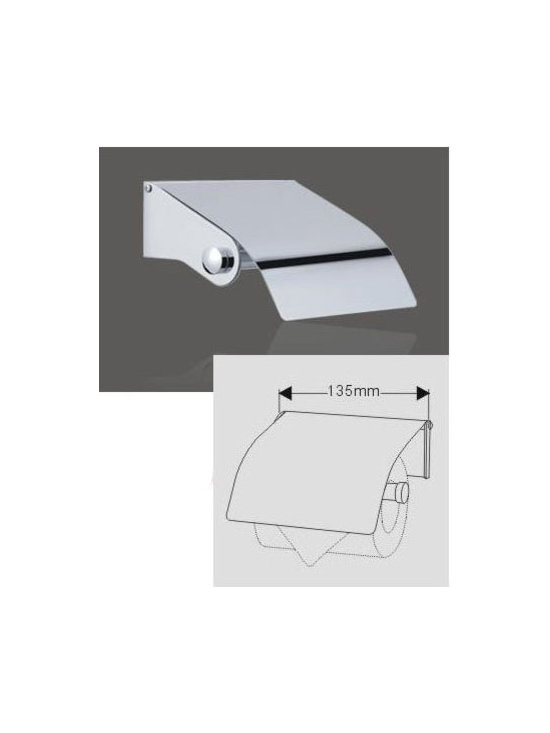 Bathroom Toilet Roll Holder Chrome - Features: