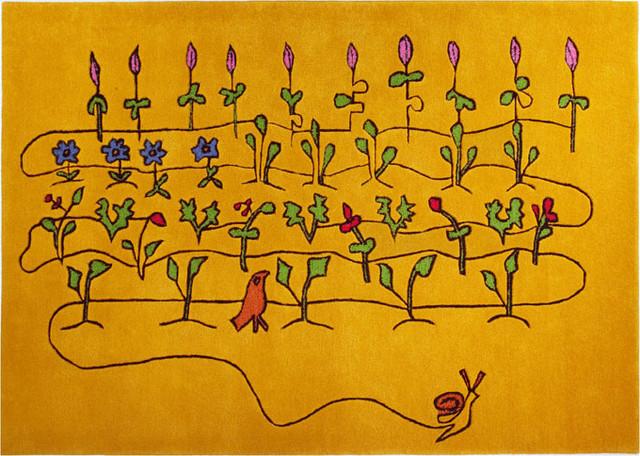 IndiB - Kid's Collection - Veggie Garden modern-kids-rugs