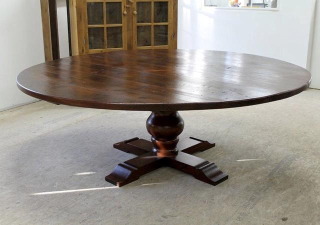 """84"""" Round Farmhouse Table"""