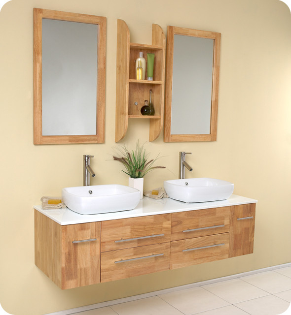 Floating Bathroom Vanities contemporary-bathroom-vanities-and-sink-consoles