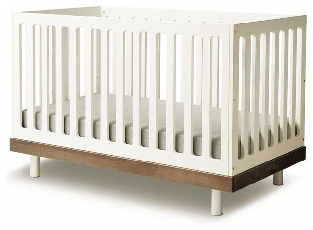 Classic Crib by Oeuf, Walnut modern-cribs
