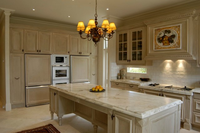 Queenscliff french provincial kitchen traditional for French provincial kitchen designs