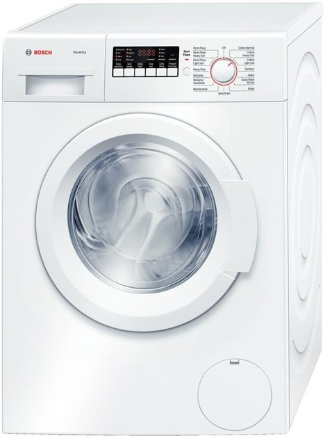 """Bosch 24"""" Front Load Compact Washer, White 