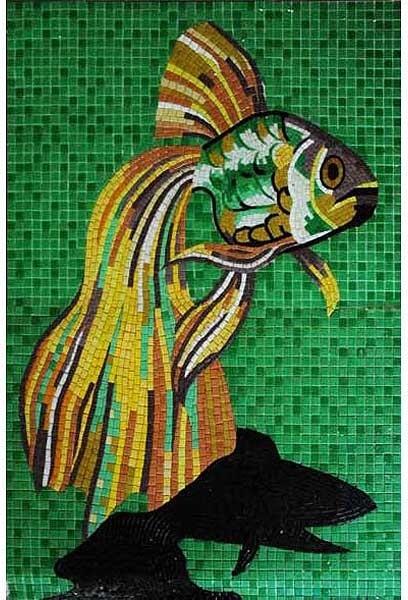 Glass tile mosaic for pool tropical-mosaic-tile