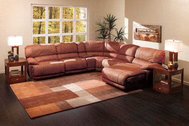 The Cloud II 6 Pc Sectional Living Room By Sofa Mart
