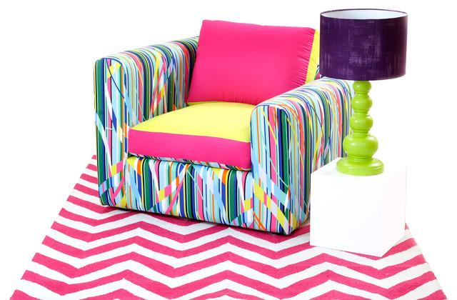 Alexis Multicolor Sofa Modern Sofas Mexico City By