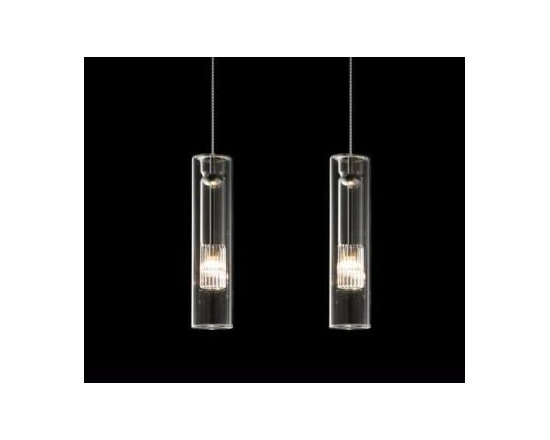 Fairy S/C Pendant Lamp By Leucos Lighting - Fairy SC Pendant by Leucos Lighting is the Cylinder glass version of the Fairy suspension collection.