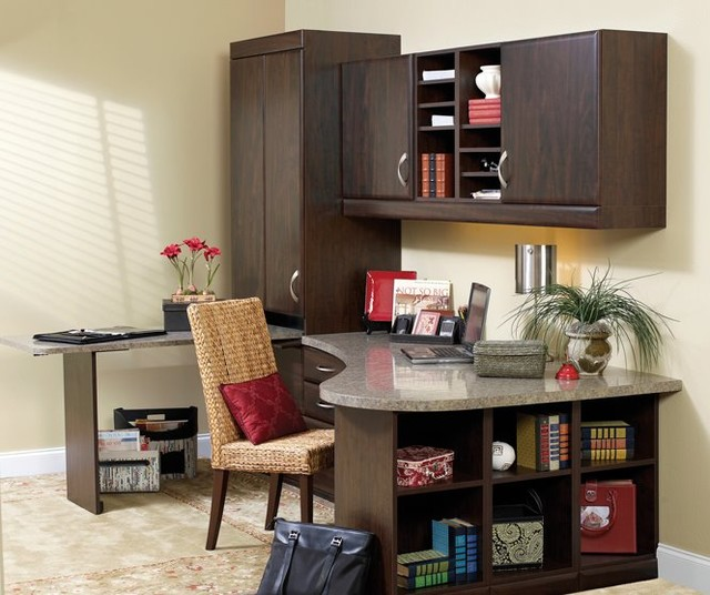custom home office desks and hutches tampa by more