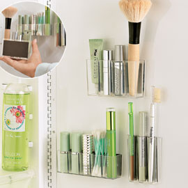 MagnaPods Makeup Organizers modern bathroom storage
