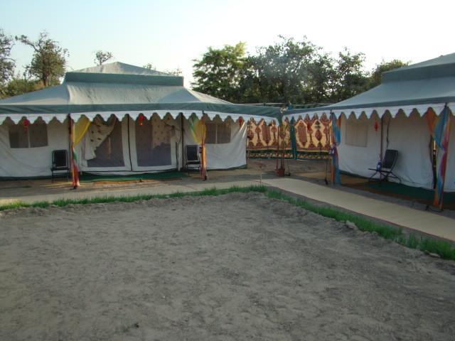 Tent asian-landscape