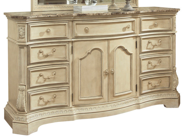 ortanique dresser in light opulent traditional