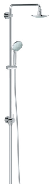 Grohe 27421000 Euphoria Shower System contemporary-bathroom-faucets-and-showerheads