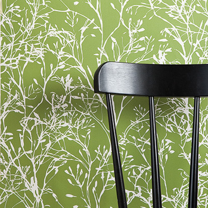 Ferm Living - Wild Flower Wallpaper modern-wallpaper