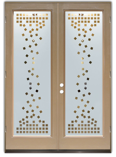 Glass Front Entry Doors - Frosted Glass Obscure - FALLING ...