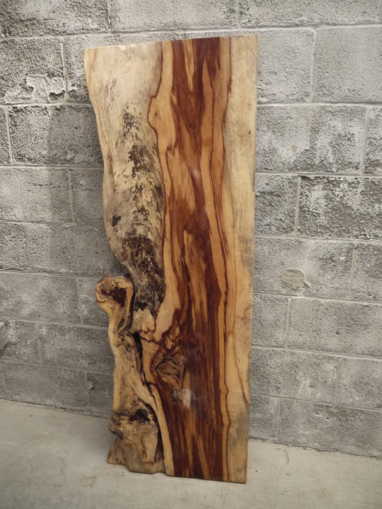 Live edge Tamarin office desk - Charles St-Louis