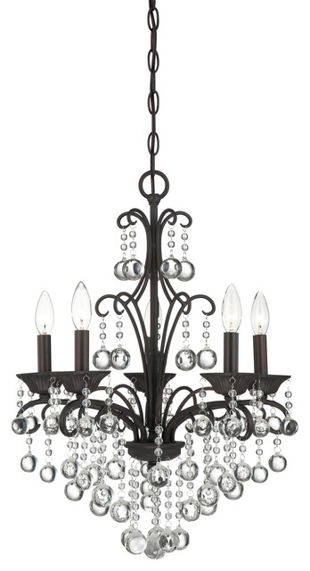 Quoizel QMC1199FR Carrabelle Traditional Crystal Chandelier traditional-chandeliers