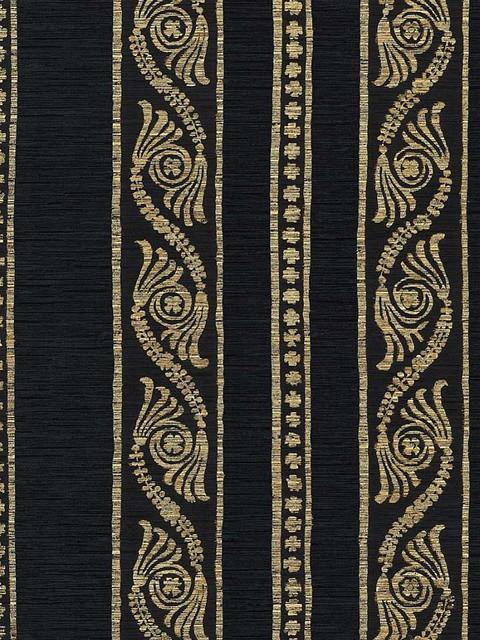 Bagatelle Stripe Wallpaper traditional-wallpaper