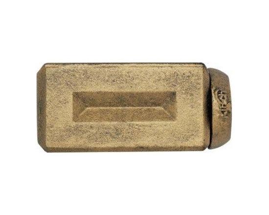 Kirsch Wrought Iron Beveled Brick Finial - Kirsch Wrought Iron Beveled Brick Finial