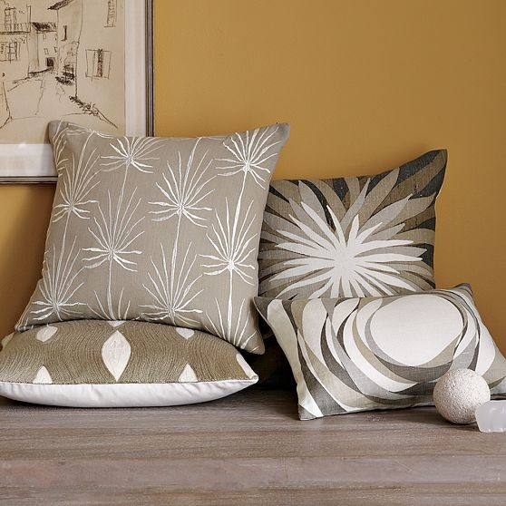 New Allegra Hicks Pillow Cover Collection - Modern - Pillowcases And Shams - by West Elm