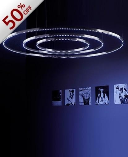Segno Aura LED Medium Chandelier modern-lighting