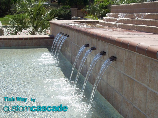 Specialty Order Fabrications & Channel Spouts - swimming pools and