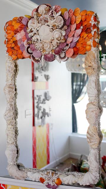 Purple Heart Mirror tropical-mirrors