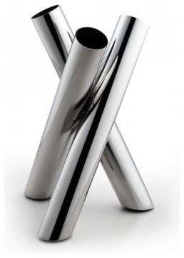 Tulip Stainless Steel Bud Vase Modern Vases Brisbane By Nova Deko
