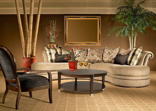 Custom Sofas and Sectionals traditional sectional sofas san go