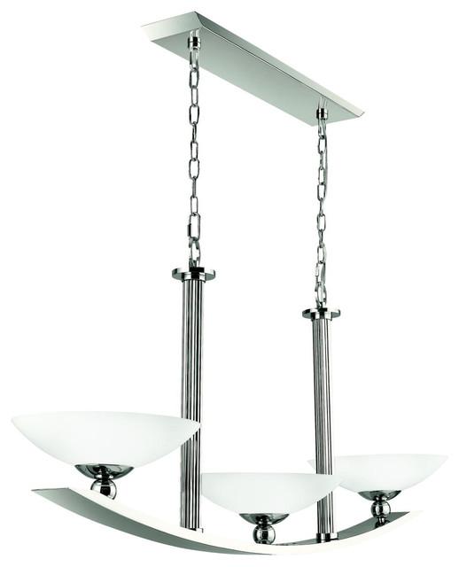 Linear Chandeliers - Palla - 42007PN modern-chandeliers