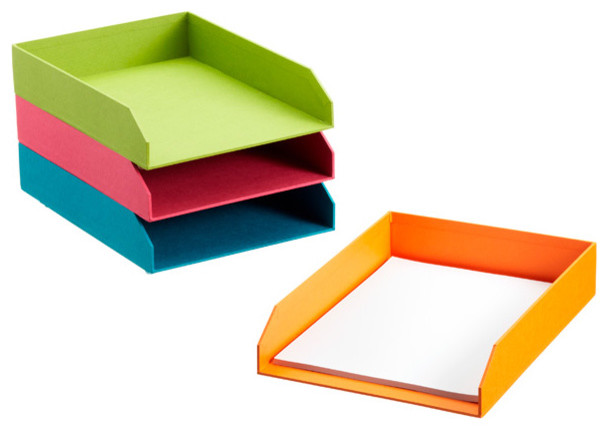 Bright Stockholm Stacking Letter Tray - Contemporary ...