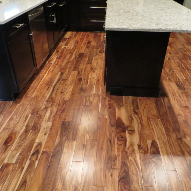 Solid Acacia Blonde/ Prefinished - Traditional ...