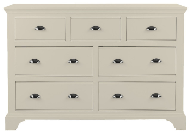 Downton Bedroom Furniture Chest 4 3 Drawers In Ivory Paint