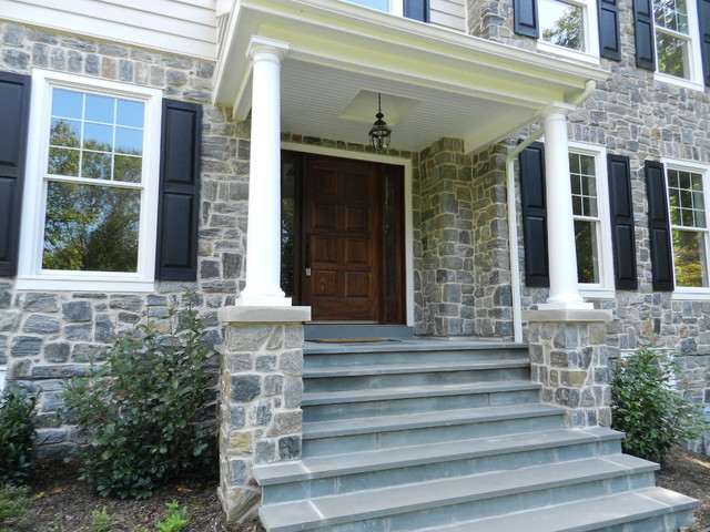 Bryn Mawr, New construction traditional-entry