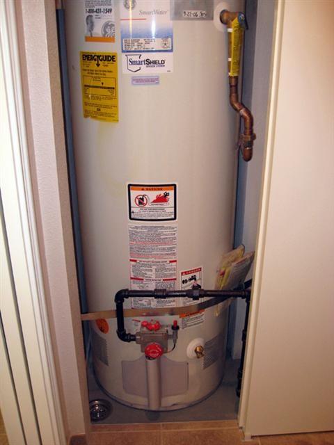 Hot Water Tank Closet