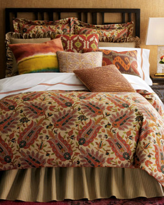 """Pranzo"" Bed Linens eclectic-bedding"